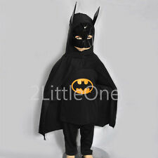 Batman Character Hero Superhero Boy Fancy Party Costume Outfit Kid Size 3T-8 004