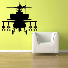 APACHE ATTACK HELICOPTER Vinyl Wall Sticker Decal 44x45