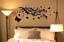 Butterfly Tree Branch Home Deco Sticker Vinyl Decal 5FT