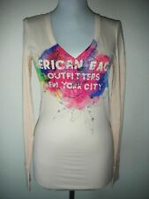 NWT AMERICAN EAGLE V-NECK LONGSLEEVE TOP