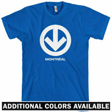 Montreal Metro T-shirt - Subway Quebec - New XS-4XL