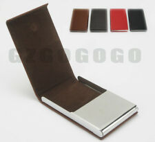GZGOGOGO men's women's faux leather + steel card holder Credit cases CHGZ2