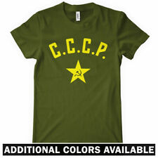 CCCP Women's T-shirt - Soviet USSR Russia Russian Moscow Ladies Tee - S to 2XL