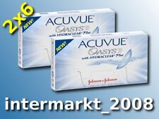 Acuvue OASYS Hydraclear PLUS BC 8.4  2×6 Non-Stop-Linsen 2-Wochenlinsen  Neu&OVP