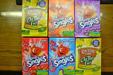 Kool Aid Singles *Tropical Punch, Grape, Cherry or Country Time Lemonade Disco