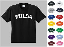 City of Tulsa College Letters T-shirt