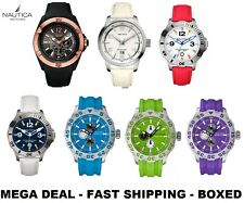 Clearance Nautica Quality Designer Mens Watch Sale Analogue Choice of 7 Style UK