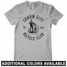 BALTIMORE BICYCLE CLUB T-shirt - Charm City B'more Cycling Bike Wire Women S-2XL
