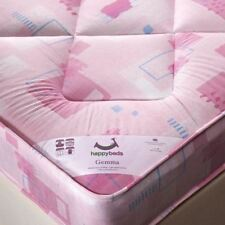Childrens Bed MATTRESS, Kids Bedroom Furniture, All Sizes Pink Girls Mattresses