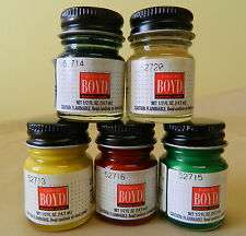 Testors Boyd 1/2 oz (.5oz) Jar Enamel Paints Many Colors Available To Choose