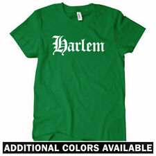 HARLEM T-shirt - Gothic - New York NYC 212 718 646 Manhattan - Women's S-2XL NEW