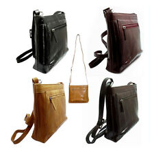 Genuine Eel skin Leather Handbag Shoulder Cross body handbag 4 Colors
