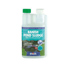 BERMUDA 250ml/500ml/1 litre BANISH POND SLUDGE DIGESTER WATER TREATMENT KOI FISH