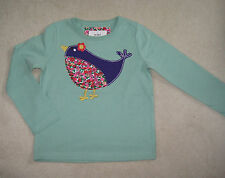 New Mini Boden T Shirt Top 2 3 4 5 6 7 8 9 10 11 12 years Floral Bird