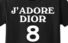 J'Adore  8 T-Shirt Sex and the City Carrie Black New