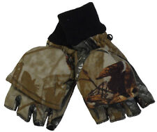 NWT Camo Fingerless Mitten Winter Camouflage Glove NEW & FREE SHIPPING