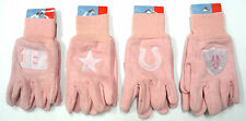 NWT NFL Pink Sport Utility Glove Winter Outdoor NEW Licensed Work Multi Purpose