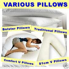 VARIOUS PILLOWS - WITHOUT CASE - Maternity/Pregnancy/Mobility/Body Support
