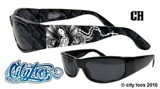 City Locs Virgin De Guadalupe Chopper Lowrider Gangster OG Thug Sunglasses 419