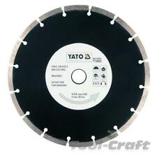 Yato diamond blade disc 115-230mm segment type for concrete, bricks tile masonry