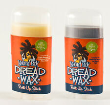 Knotty Boy Dreadlocks Wax 2.25oz Roll Up Stick, Dark or Light Hair
