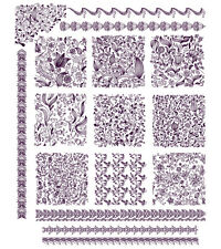 "ABC Designs Seamless Blocks Machine Embroidery Designs SET 5""x7"" hoop"