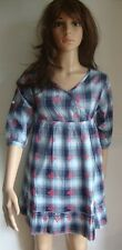 NEW GIRLS GYPSY SUMMER DRESS/LONG TOP AGE SIZE 12 TO 16 YEARS Y BLUE