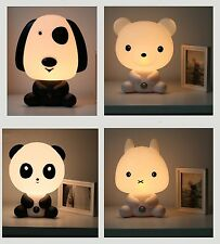 Carton Animal Lamp cute! Baby Kids Children bedroom Night Light prefect Gift!