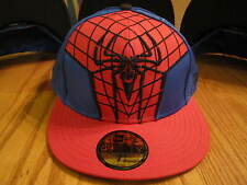 The Amazing Spider-Man Suit Hat New Era 5950 Fitted Hat Marvel Comics NWT