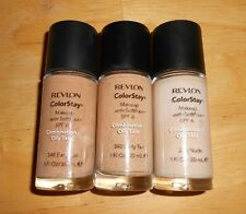 1 revlon COLORSTAY foundation MAKEUP w/SOFTFLEX FORMULA combination/oily skin