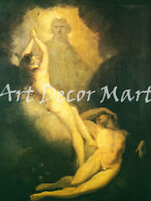 The Creation Of Eve-Fuseli- CANVAS OR PRINT WALL ART