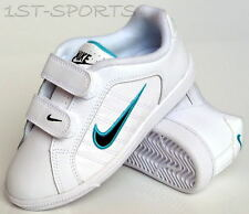 NIKE GIRLS TRAINERS, SHOES, COURT TRADITION 2 PLUS UK 10.5 to 2.5 WHITE