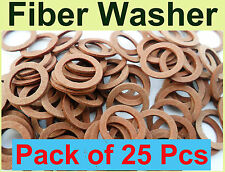M19 to M30  Red Fibre washer various size plumbing insulating sealing washer