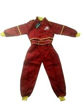 NEW LIGHTNING McQUEEN RACE SUIT OVERALLS INFANT / CHILD SIZE 1-2 3-4 5-6 YEARS