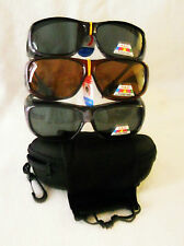 FIT-OVER PRESCRIPTION RX SUNGLASSES POLARIZED MEDIUM  LENSES 100%UV BLOCK