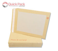 Board Backed Envelopes A3,C3,A4,C4,A5,C5 / DO NOT BEND / Back - Multi Listing