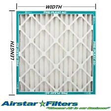 MERV8 CARRIER / BRYANT / PAYNE / ICP Pleated Air Filter , Case of (12)