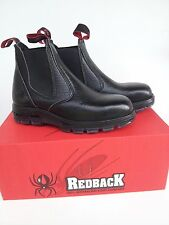 Redback Work Boots USBBL Steel Cap Toe Elastic Sided Made in Australia