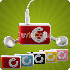 Clip USB MP3 Player Support  Up To 8GB Micro SD TF Memory Card Good Performance