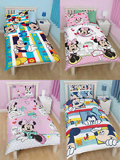 Disney Minnie Mouse Mickey Mouse bedding single duvet cover set