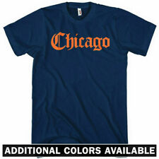 CHICAGO T-shirt - Gothic - 312 773 Bulls Bears Sox Cubs Blackhawks - NEW XS-4XL