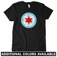 Chicago Insignia Women's T-shirt - Windy City Bulls Bears Sox Cubs Tee - S to 2X