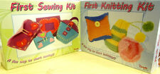 Children's First Sewing / Knitting Kit Perfect Craft For Beginners & Kids 6+