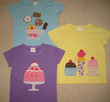 New Mini Boden Yummy Applique Tshirt Top 2-12 years Jelly Tea Biscuits Ice cream
