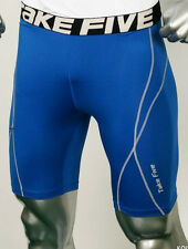 BLUE Mens Compression Base Layers Tights Sports SHORT PANTS Running Skin SHORTS