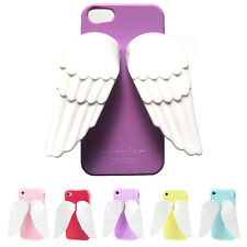 ANGELA Wing Jelly Case Apple iPhone5S iPhone5 Angel wings Easy hand holder Cover
