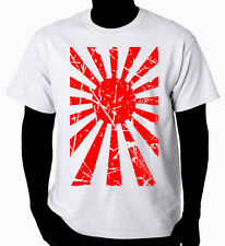 Art T-Shirt   Japanese Rising Sun Flag