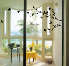 Birds Tree Wall Decals Removable Decorative Home Decor Stickers for Living Rooms