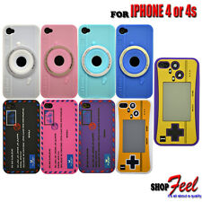 9 COLOUR FANCY STYLE SOFT SILICONE RUBBER GEL PHONE CASE COVER FOR IPHONE 4 / 4S