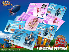 Lazy Town Personalised Party Invitations (7 Designs)